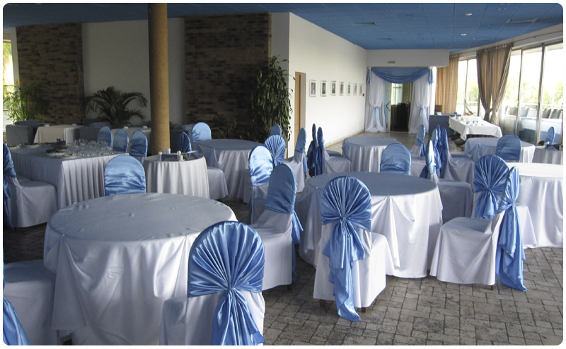 Так наши накидки на стулья могут выглядеть на Вашем мероприятии.